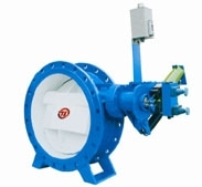 DXH44X oblique seal butterfly valve multifunction